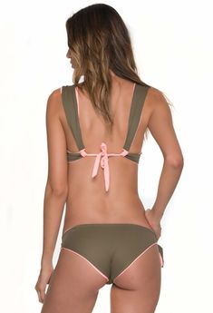 Double Glee Army & Neon Mandarina Bikinis