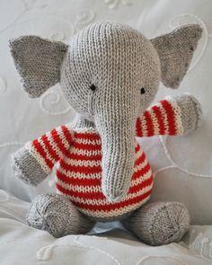 Ravelry: ferdinanda's Sailor Elephant