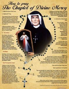 How to Pray the Chaplet of Divine Mercy Closing Prayer, Opening Prayer, New Quotes, Faith Quotes, Qoutes, Divine Mercy Sunday, Divine Mercy Chaplet, Apostles Creed