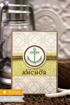 Ocean Bound, Nautical stamp set, photopolymer clear stamps from Waltzingmouse stamps | Waltzingmouse Stamps