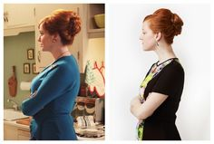 How to: Mad Men Joan's hair.