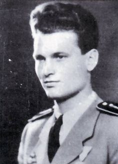 2nd Lt. Kalman Nanasi, WWII Hungarian ace with 9 victories.