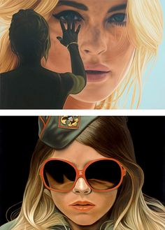 Large Scale Paintings by Richard Phillips