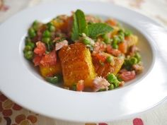 ... Free Golden Beetroot Gnocchi with Pea, Bacon, Tomato & Mint More
