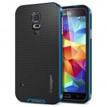 Carcasa Samsung Galaxy S5 Spigen SGP Neo Hybrid Electric Blue $16.990,00