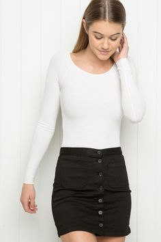 Brandy ♥ Melville | Armelle Skirt - Bottoms - Clothing