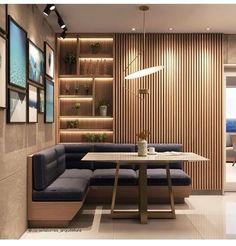 dreamy partition apartment design ideas you must have 16 Interior Design Kitchen, Interior Design Living Room, Living Room Decor, Dining Nook, Dining Room Design, Apartment Design, Home And Living, House Design, Home Decor