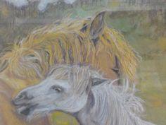 Pastel drawing by artist Ann Lamb