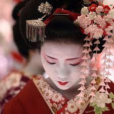 geisha headdress - Google Search