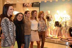 Cláudia Slaviero Khury, a diretora da estilo da Fillity Esperança Dabbur, Helena Bordon, Maria Francisca Accioly e Cristina Dabbur durante i...