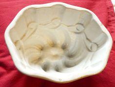 Antique Ironstone Pudding Mold-FABULOUS. $40.00, via Etsy.