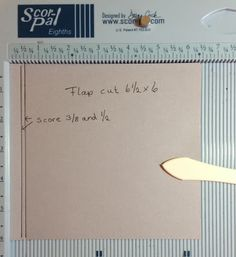 6 x 6 Pop Up Mini Album Flip Page Tutorial by Anne Rostad