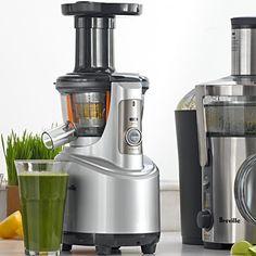 $399.95 Breville Juice Fountain Crush Slow Juicer | Williams-Sonoma