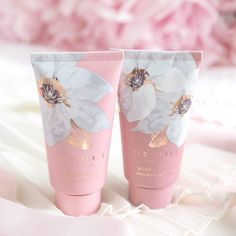 Ted Baker New Fragrant Bloom Collection Skincare Packaging, Cosmetic Packaging, Beauty Packaging, Makeup Package, Flower Packaging, Cosmetic Design, Grafik Design, Bottle Design, Packaging Design Inspiration
