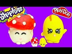 SHOPKINS Limited Edition MARSHA MALLOW How To Make With Polymer Clay Shopkins Custom DIY - YouTube