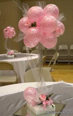 Centros de mesa rosas para xv años 6