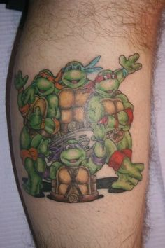 Teenage Mutant Ninja Turtles [TMNT] tattoo ink http://inkspire.awwomg.com/tattoodesigns/teenage-mutant-ninja-turtles-tmnt-tattoo-ink/