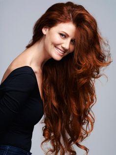 couleur de cheveux marron rouge