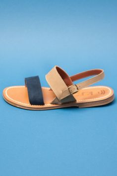 K. JACQUES POUR OPENING CEREMONY MENS BARIGOULE STRAP SANDAL - MARINE/SAFARI - MEN ($200-500) - Svpply