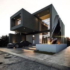 Modern House Design - House exterior - House Inspiration