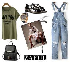 """ZAFUL (II/9)"" by albinnaflower ❤ liked on Polyvore featuring Bobbi Brown Cosmetics, MAC Cosmetics and zaful"