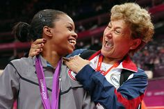 Photos of the day: Gabby Douglas celebrates winning the gold medal in individual all-around gymnastics with U.S. team coordinator Martha Karolyi.
