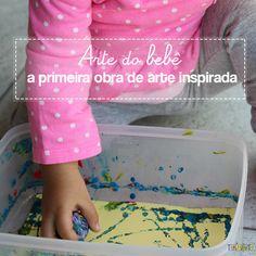 Arte para bebês: meu primeiro mestre da história da arte #arte #bebês #brincadeira #atividade #ideiascriativa Jackson Pollock, Lily Pulitzer, Kids, Alice, Homemade Gifts, Primary Colors, Paper Scraps, Art For Toddlers, Art History