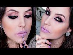 Bruna Malheiros Makeup » Maquiagem Delineado Poder + Batom Marshmallow