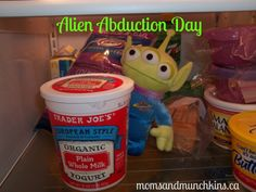 Alien Abduction Day for the kiddos from Moms and Munchkins