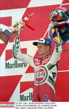 Kevin Schwantz Winner japanese GP 1994
