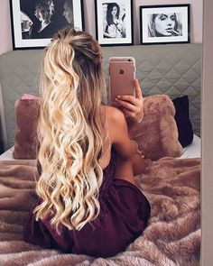"""4,538 Likes, 27 Comments - Hello Molly (@hellomollyfashion) on Instagram: """"Perfect hair """""""