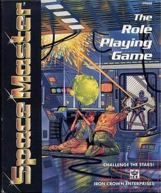 Spacemaster | Spacemaster | Iron Crown Enterprises | RPG | Roleplaying game | Science Fiction