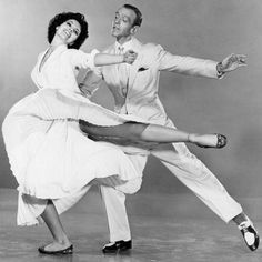 Cyd Charisse & Fred Astaire.