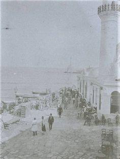 Κρήτη, Χανιά, στην προκυμαία, 1907 -  Army Medical Services Museum