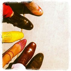 A Gaggle of Fluevogs... some old, some new, and one preview. John Fluevog Shoes, Oxford Shoes, Dress Shoes, Lace Up, Men, Accessories, Style, Fashion, Swag