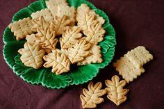 recette sans gluten de biscuit d'automne à la noisette.