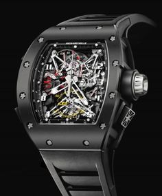 This is what a $1,000,000 watch looks like: Richard Mille   RM 050 Felipe Massa  