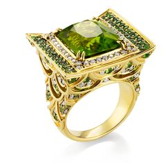 The Green Dragon Jewel from John Hardy's magnificent Cinta collection.