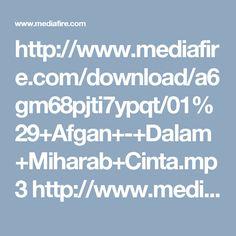 Afgan - Dalam Mihrab Cinta [ OST Sinetron DALAM MIHRAB CINTA