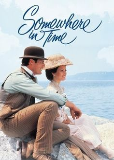"""Somewhere in Time"" (1980) starring Jane Semour, Christopher Reeve and Christopher Plummer.  A romance that includes a beautiful soundtrack."
