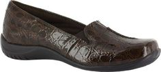 Easy Street Womens PurposeBrown Patent CrocoUS 9 W -- Check this awesome product by going to the link at the image.(This is an Amazon affiliate link and I receive a commission for the sales)