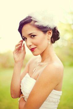 love this bridal look #TAcori #yourbestfriendswedding