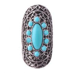 Anel Bohoeme Azul - comprar online