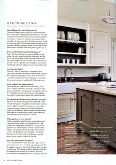 Martin Moore kitchen featuring classic cabinetry and a sophisticated paint palette martinmoore.com Beautiful Kitchens October 2014