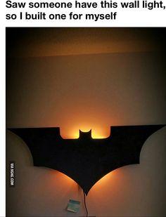 Batman lamp!