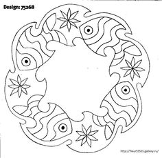 American Hippie Art Coloring Pages Mandala Snowmen Art
