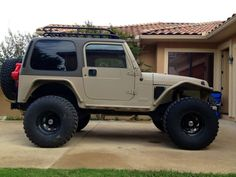 Metalcloak Jeep TJ technically not a Ford but it's a car I wouldn't mind having Tan Jeep Wrangler, Cj Jeep, Jeep Mods, Jeep Cj7, Jeep Truck, Jeep Wrangler Unlimited, Chevy Trucks, Trailers, Badass Jeep