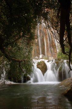 Margoon (Margun) Waterfall 1,   Fars province,near the city of Sepidan,Iran