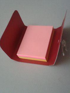 Mini porta bloco adesivo