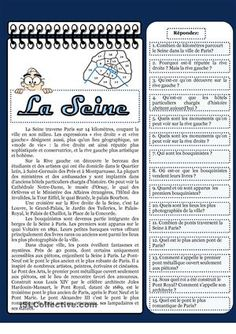 Learn French Videos Worksheets Printing Videos Architecture Home French Teacher, Teaching French, High School French, French Course, French Worksheets, Classroom Behavior Management, French Education, French Grammar, La Rive